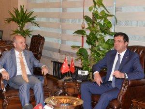Ekonomi Bakanı Nihat Zeybekci, Mersin'i ziyaret etti