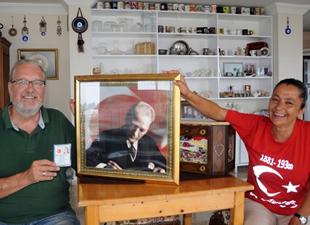 Amerikalı Milwaukeeli Randy, Mustafa Kemal oldu
