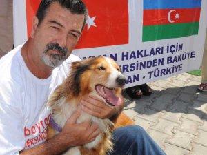 Mersin'den Bakü'ye Hayvan Hakları Köprüsü