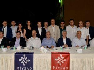 MİYSAD'ın Mersin'deki iftarına yoğun ilgi