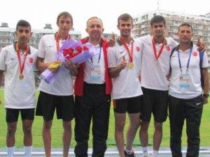 Mersinli genç atletler, Dünya Şampiyonası'nda 3. oldular