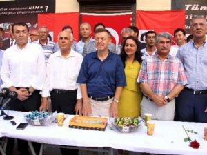CHP Mersin Milletvekilleri, partililerle bayramlaştı