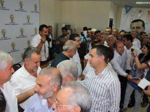 AK Parti Mersin Milletvekilleri, partililerle bayramlaşma