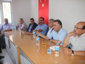 MHP Gülnar İlçe Teşkilatı'nda bayramlaşma gerçekleşti