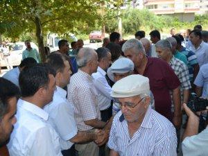 AK Parti Bozyazı İlçe Teşkilatı'nda bayramlaşma