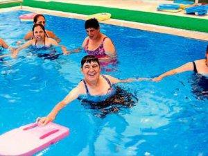 Türkiye'nin engelli havuzu Mersin'de