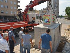 Akdeniz'de atıklar yeraltına iniyor, görsel kirlilik ortadan kalkıyor