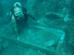 Başkan Kocamaz'dan Sualtı Arkeolojik Yüzey Araştırmaları'na tam destek