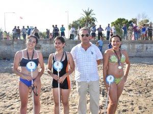 Anamur'da festival coşkusu, yüzme ve kano yarışlarıyla sürdü