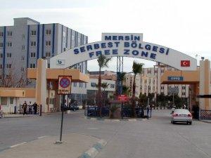 Mersin Serbest Bölgesi'nde ticaret hacmi arttı