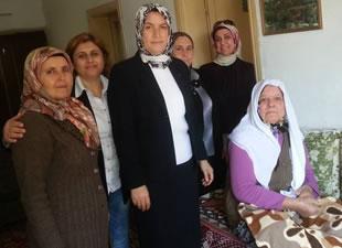 Ak Parti Anamur Kadın Kolları'ndan anlamlı ziyaret