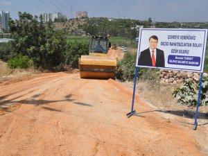 Silifke'de Atakent yeni yollara kavuşuyor