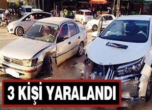 Aydıncık'ta kaza: 3 yaralı