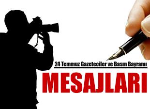 24 Temmuz Basın Bayramı ve Sansürün Kaldırılışı mesajları