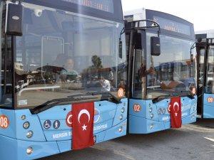 Mersin Büyükşehir Belediyesi, otobüs filosunu güçlendiriyor