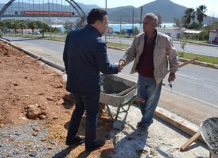 """Aydıncık Belediyesi, """"Düğün Salonu"""" ve """"Pazar Yeri"""" projeleri hayata geçiriyor"""