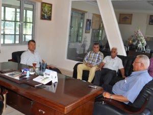 Başkan Turgut'tan Silifke Koop ziyareti