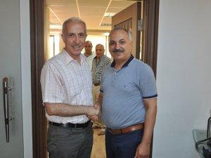AK Parti Milletvekili M. Mustafa Gültak'tan Mersin ESOB Başkanı Dinçer'e ziyaret