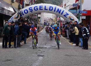 Mersin Uluslararası Bisiklet Turu'na Anamur'dan start verildi