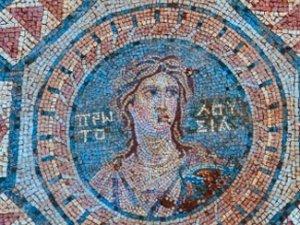Mersin'de 1800 yıllık mozaik bulundu
