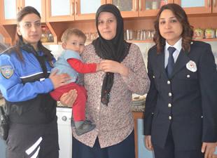 Anamur Emniyeti'nden Gazi ve Şehit Aileleri'ne ziyaret