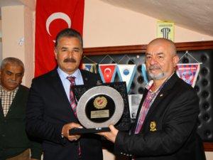 Saha Komiserleri'nden Başkan Tuna'ya pkalet