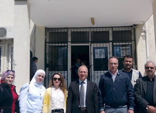 UNICEF, Mersin'de hizmetlerini inceledi