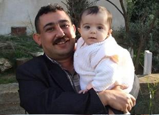 Anamur Belediyesi çalışanı Veli Erkan, son yolculuğuna uğurlandı