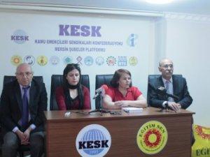 Haklarımız AKP'ye peşkeş çekildi