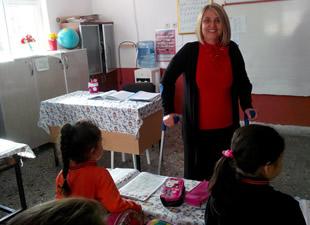 Anamur'da öğretmen Taliha Mişe'den örnek davranış