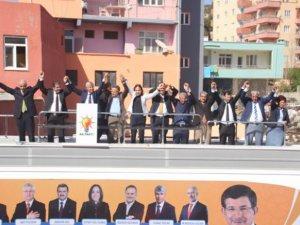 Ak Parti Mersin Milletvekili Adayları Gülnar'da görücüye çıktı