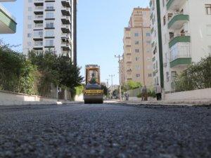Mezitli'de asfalt seferberliği
