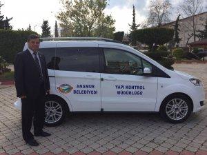 Anamur Belediyesi'ne yeni araç takviyesi