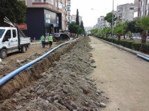 MESKİ, Anamur'da içme suyu hattını yeniliyor
