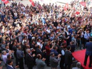 MHP Mersin Milletvekili adayları, Mut'ta coşkuyla karşılandı