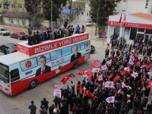 MHP Mersin Milletvekili Adayları, Gülnar'da tanıtıldı