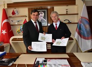 Bingen-Anamur Kardeş Kent Derneği Başkanı Helmut İrmen'den Başkan Türe'ye ziyaret