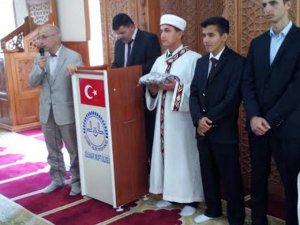 Anamur Anadolu İmam Hatip Lisesi, Hutbe Okuma Yarışması'nda İl Birincisi oldu