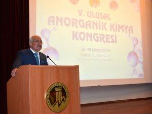 5. Ulusal Anorganik Kimya Kongresi yapıldı