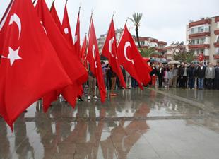 Anamur'da 23 Nisan Ulusal Egemenlik ve Çocuk Bayramı kutlandı