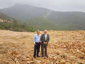 Huzurevi Projesi Arazi Düzenlemesi Devam Ediyor