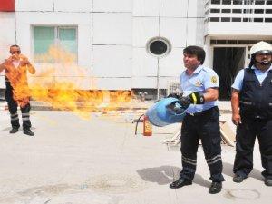 Medical Park Tarsus Hastanesi'nde Heyecanlı Tatbikat