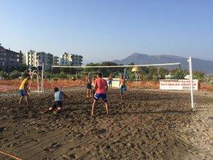 10. Uluslararası Kültür ve Muz Festivali Voleybol Turnuvası Başladı