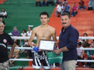 Mersin'de Yayla Kupası Muay Thai turnuvası sona erdi