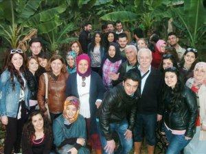 Tokat'tan muzu incelemek için Anamur'a geldiler