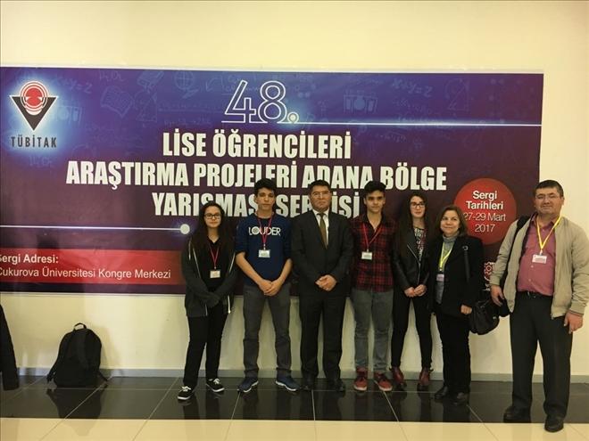 Anamur Şehit İbrahim Armut Fen Lisesi Proje yarışmasında birinci oldu