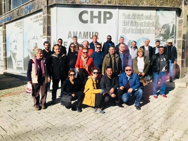 CHP ANAMUR SAHAYA İNDİ