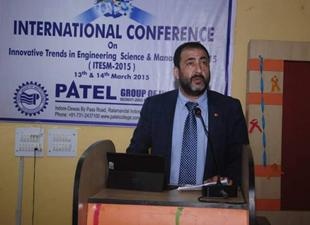 Bozyazılı Bilim Adamı Doç. Dr. Ahmet Ak'a Hindistan'dan anlamlı ödül