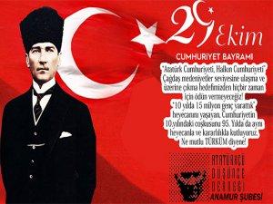 ADD Cumhuriyet Bayramı Mesajı
