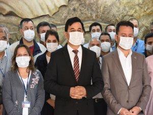 """Anamur Belediyesinden """"Maskeni Tak"""" Etkinliği"""